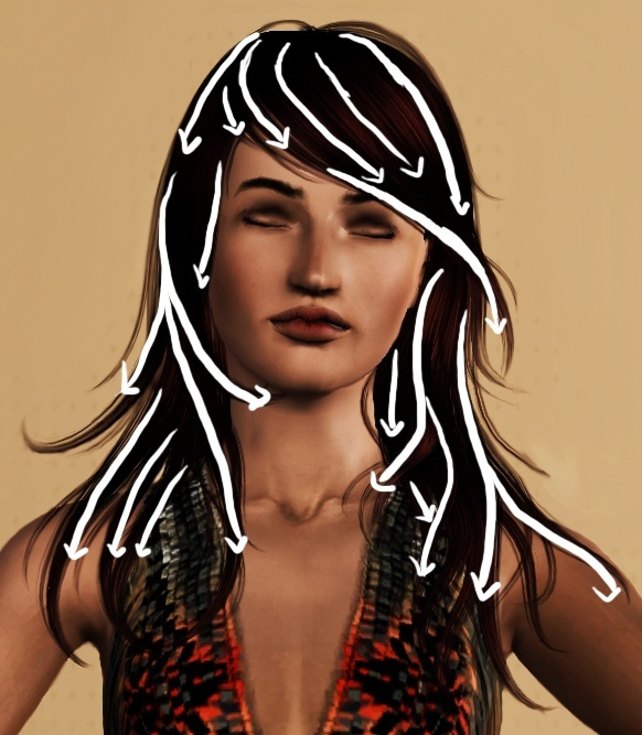 [Intermédiaire] Hair drawing 6bis10