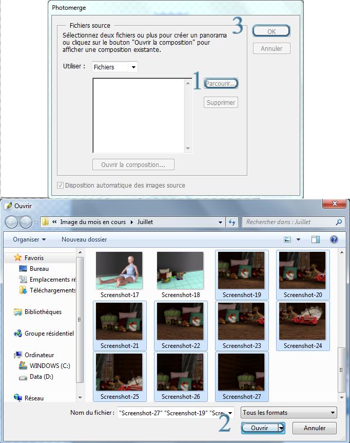 [Apprenti] Augmentez la résolution de vos images avec Photomerge Cs-111