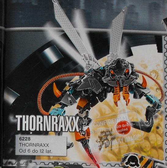 [Figurines] Les Hero Factory 2012 se dévoilent : Images préliminaires Thornr10