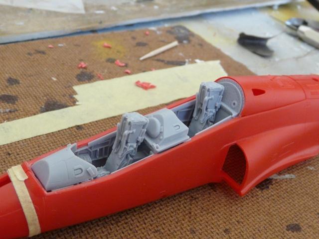 Red arrows  Red 4  xx179  italeri 1-48 P1070213