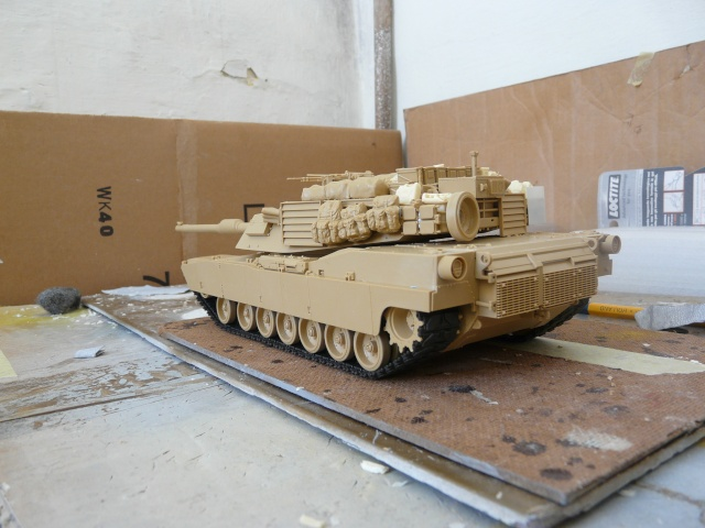 M1 A2 Abrams 1-35 Tamija  Operation Iraqi Freedom P1070230