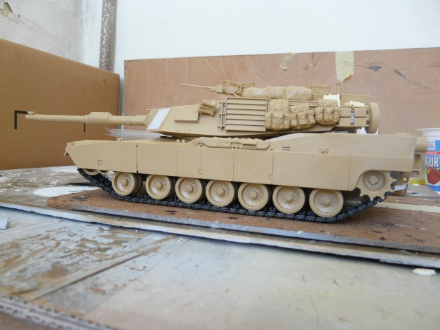M1 A2 Abrams 1-35 Tamija  Operation Iraqi Freedom P1070231
