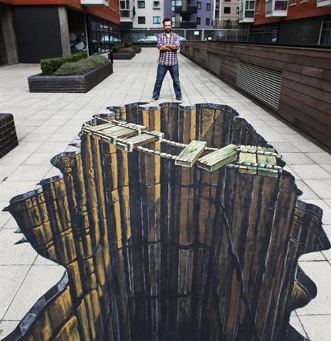 peintures de rue en 3D assez époustouflantes. Art-ru15
