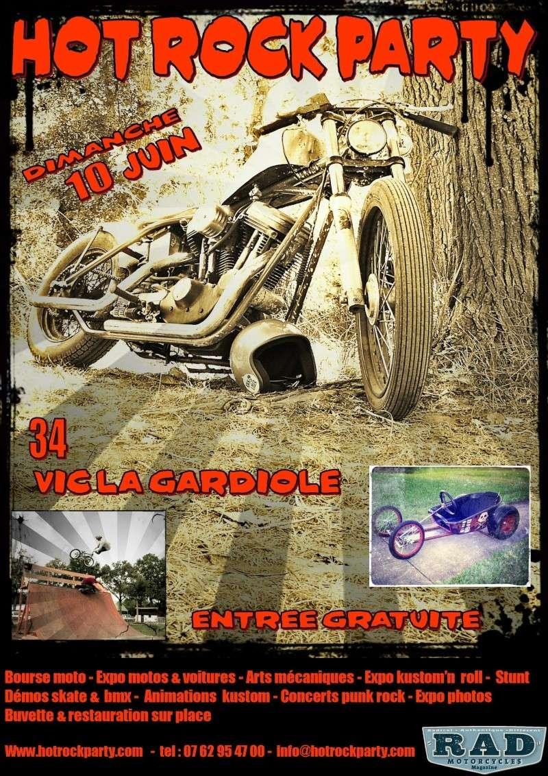 HOT ROCK PARTY 10JUIN 2012 VIC LA GADIOLE Affich18