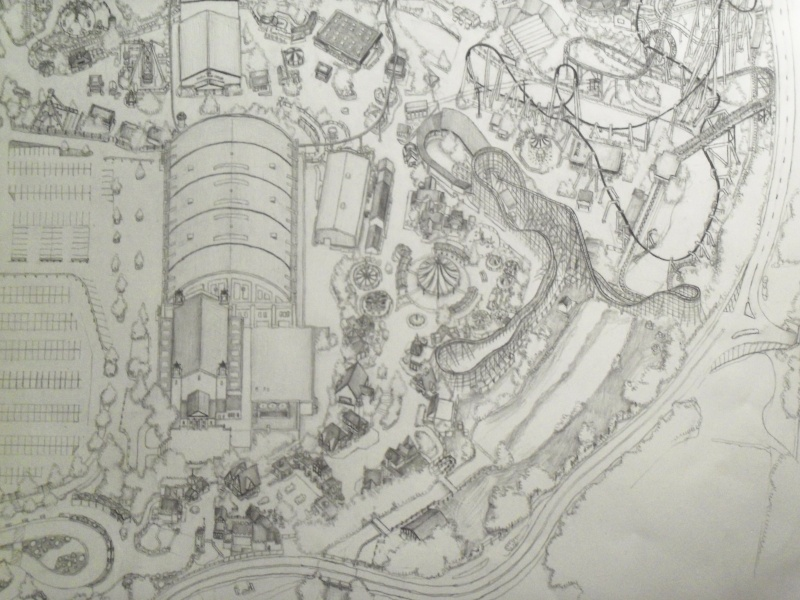 My pencil drawing of Hersheypark 100_2516