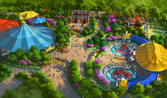 Part of New Fantasyland's Storybook Circus Will Open by Late March at Magic Kingdom Park Cjf01810