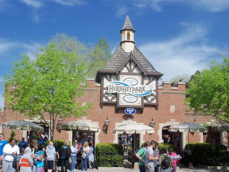 "SPECIAL FEATURE: From ""Hershey Park"" to ""Hersheypark"" - A Look from 1971 to 1973 Hershe18"