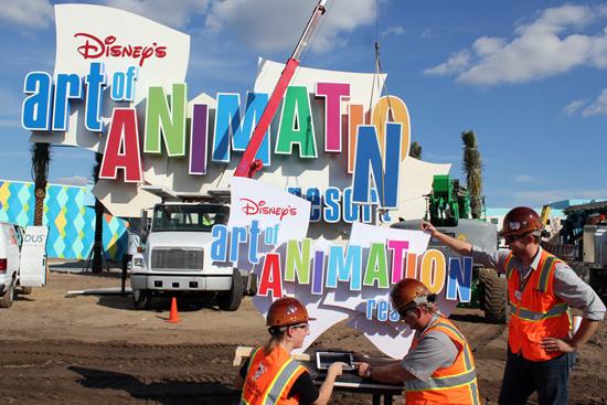 A Marquee Milestone at Disney's Art of Animation Resort at Walt Disney World Resort Mrq11910