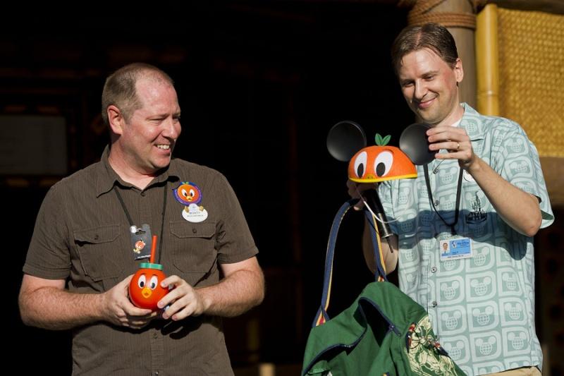 Historic Orange Bird Returns to Adventureland at Magic Kingdom Park Rng11210