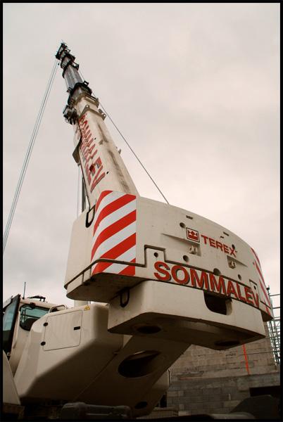 Les grues de SOMMALEV (France) Sommal13