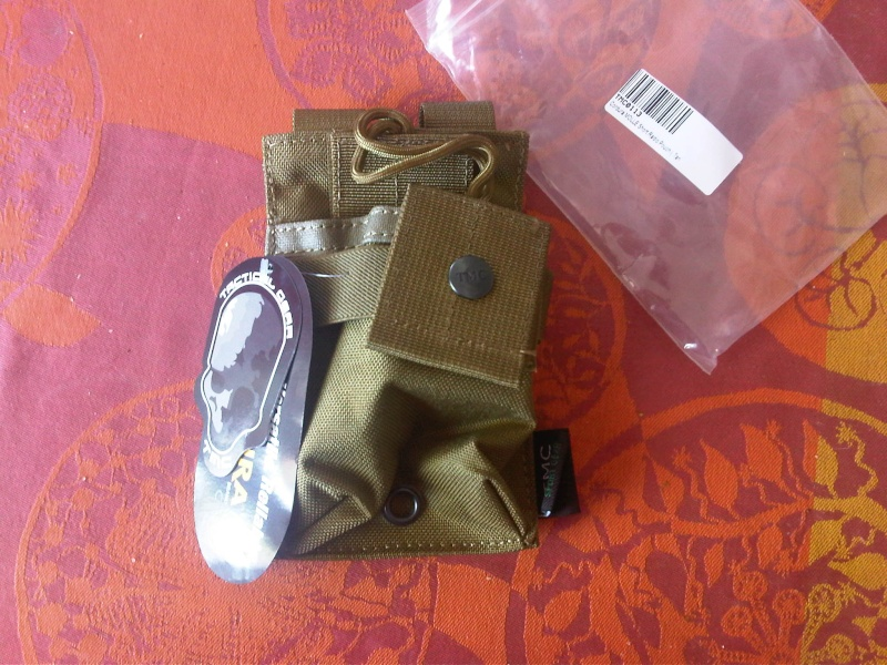 [Vends]  Glock 26C kwa + poches TMC khaki/tan Img-2018