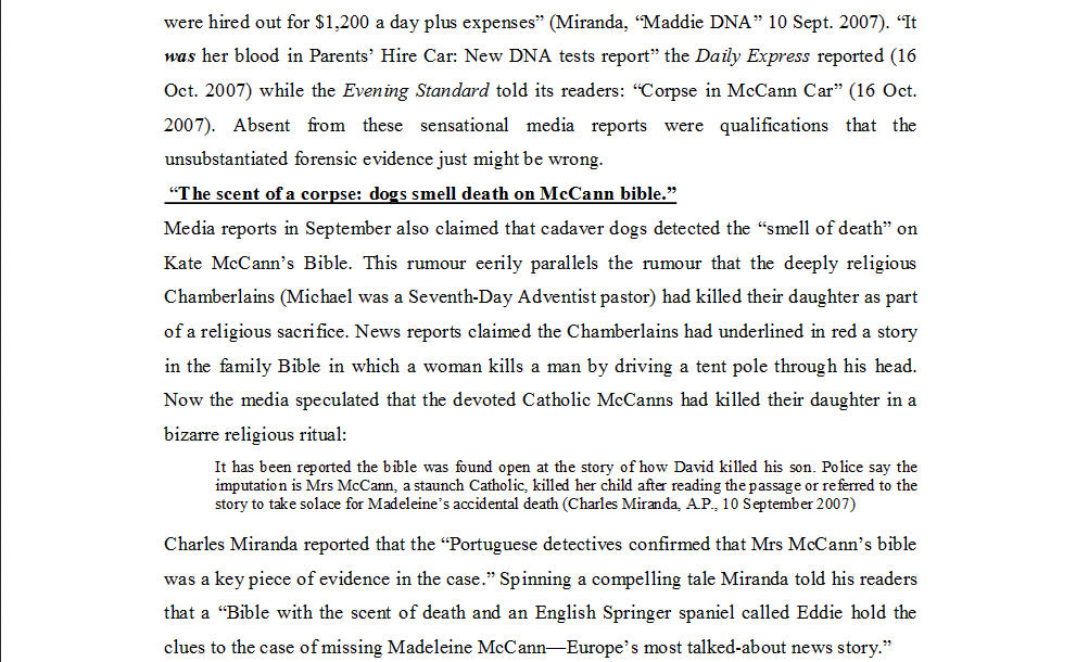 "Dr Nicola Goc: ""Bad Mummy""-  Kate McCann, Medea and the Media 1110"