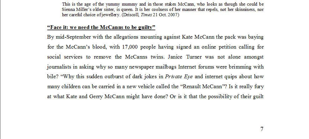 "Dr Nicola Goc: ""Bad Mummy""-  Kate McCann, Medea and the Media 1410"