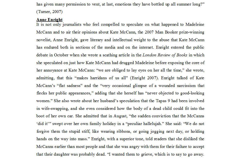 "Dr Nicola Goc: ""Bad Mummy""-  Kate McCann, Medea and the Media 1510"
