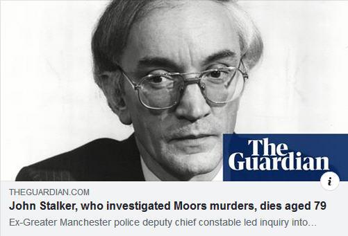 Former Police Chief John ('McCanns are hiding a big secret') Stalker dies aged 79 158