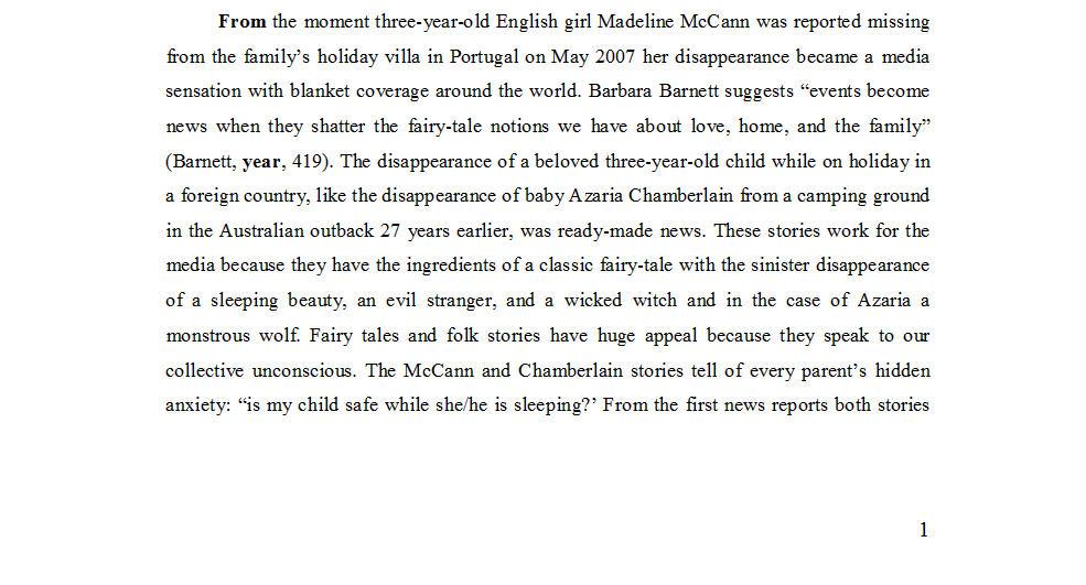"Dr Nicola Goc: ""Bad Mummy""-  Kate McCann, Medea and the Media 221"