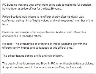 Another fraudulent fund: Probe  launched as fraudsters attempt to cash in on PC who died in line of duty 262