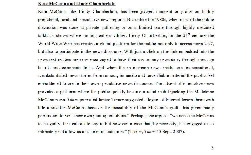 "Dr Nicola Goc: ""Bad Mummy""-  Kate McCann, Medea and the Media 610"