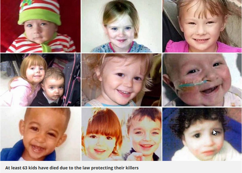 Scandal of 63 children killed by parents after officials missed warning signs 63_kid10