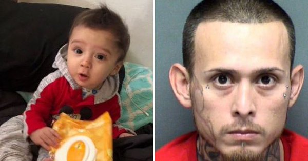 Dad 'killed baby son, then faked kidnapping to cover-up the killing' Fake11