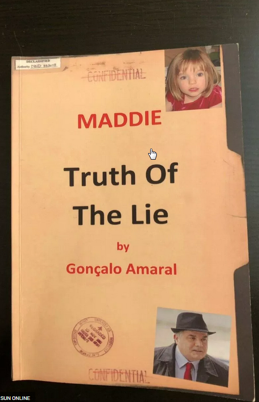 'DOWNRIGHT LIES' Madeleine McCann ghouls paying £172 for copies of memoir written by disgraced Portuguese cop Amaral as greedy book sellers cash in Ga10