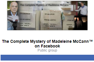 The Complete Mystery of Madeleine McCann™ - Portal Invite11