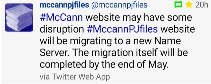 McCann PJ files and Maddie Case Files - the official police files Mccann17
