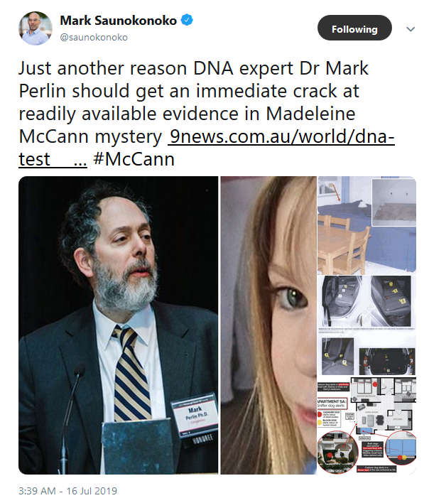 DNA scientist in 'Maddie' podcast helps overturn wrongful murder conviction Ms_per10