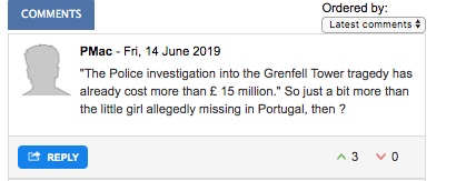Government refuses full police funding request for Grenfell investigation despite approving all others - including Madeleine McCann Investigation Pmac10