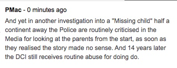 Police criticised for FAILING to look immediately at parents who reported child missing which later became murder inquiry Thumbn17