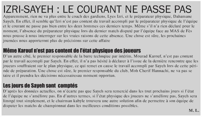 Mourad Karouf [Ex-Entraineur] D10