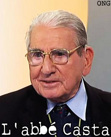 """CASTA François: """"L'épée et la croix""""... 89 ans, il a vécu la Seconde Guerre mondiale, l'Indochine, l'Algérie. Il est à la fois corse, prêtre, et fut officier parachutiste 49908510"""