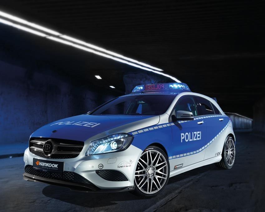 Une Classe A Brabus pour la Police Brabus11