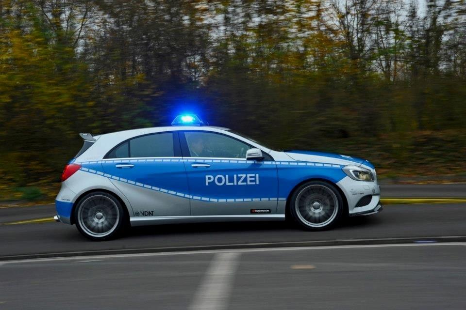 Une Classe A Brabus pour la Police Brabus14