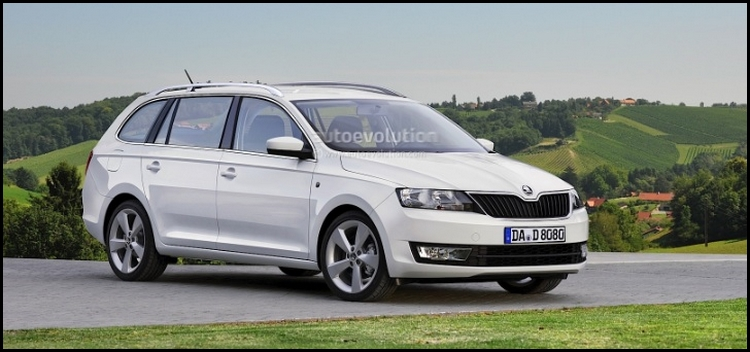 2014 - [Skoda] Rapid Spaceback Skoda-13