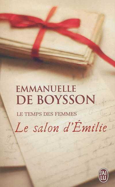 [Boysson (de), Emmanuelle]  Le temps des femmes - Tome  n°1: Le salon d'Emilie Le_sal10