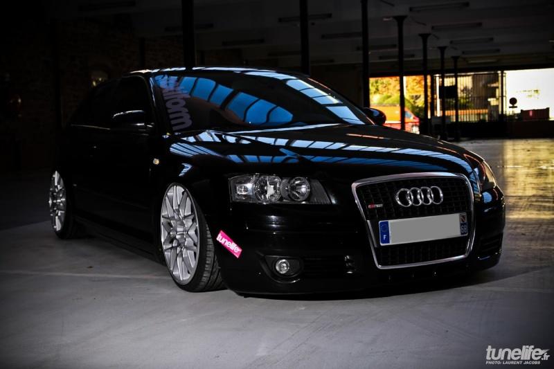 Audi A3 tdi 140 S-Line air ride + rotiform 19 13491610