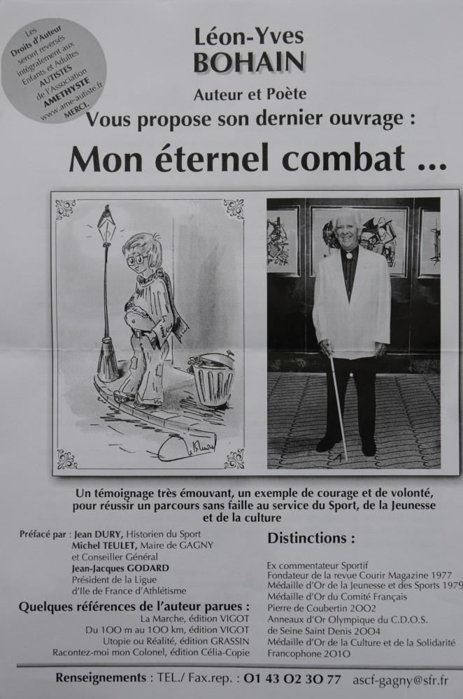 "Léon-Yves BOHAIN "" Mon éternel combat"" Bou_6910"