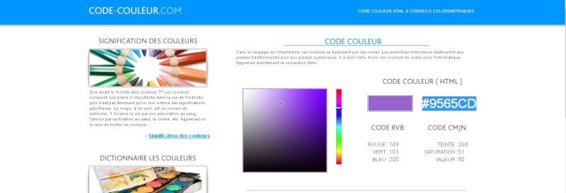 Comment personnaliser ses messages ? / Comment poster un screen ? Code-c10