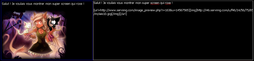 Comment personnaliser ses messages ? / Comment poster un screen ? Tuto_s14
