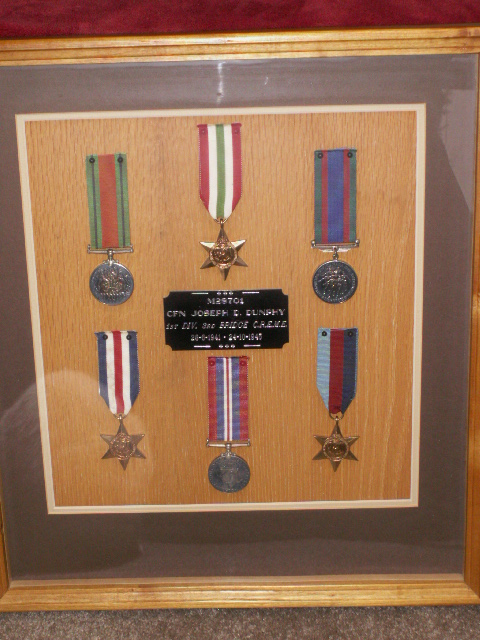 Grandfathers Medals 00211