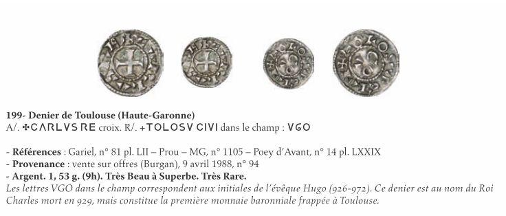 Denier carolingien pour Toulouse Coll_s10