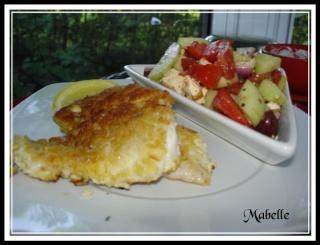 Fish and chips cuit au four a faible teneur en gras! 35810