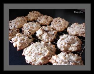 Biscuits à l'avoine, aux raisins et pacanes Biscui16
