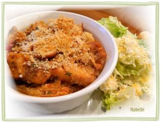Cassoulet au poulet et au porc Cassou10