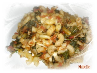 Macaronis épicés cuits au four Dsc02911