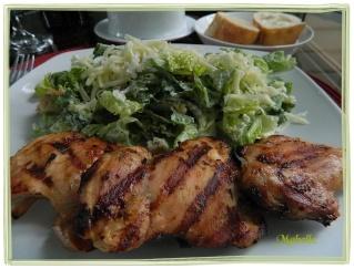 Hauts de cuisse de poulet grillés au citron, à la lime et à l'ail Dscn0435