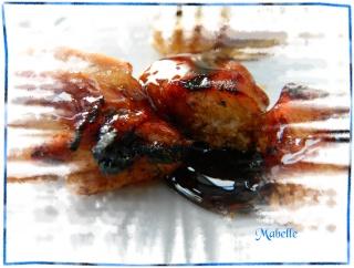 Brochette de poulet, sauce érable et balsamique Dscn0717