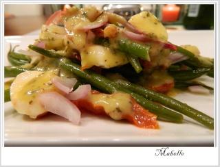Salade de haricots fins aux bocconcinis et aux tomates séchées Dscn1845