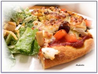 Pizza au poulet style grec Dscn1938